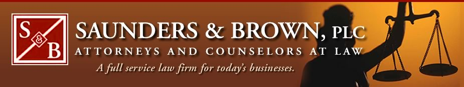Saunders and Brown PLC Attorneys and Counselors At Law